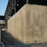 Mur structural / Mur structural avec intégration de Verrox à l'usine Tricentris de Gatineau