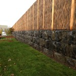 Environment-friendly sound attenuation wall / A world first: Environment-friendly sound attenuation wall with Verrox, near Highway 20 in Boucherville. Impact: noise reduction of 7 decibels Design: Jansen Industrie