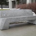 Urban concrete furniture / Urban concrete furniture Design and build: Jansen Industrie