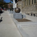 Sidewalks / Sidewalks near the Montreal Museum of Fine Arts, Du Musée Avenue, Montréal
