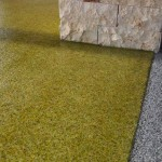 Concrete floor / Adding glass sand and epoxy to concrete floors Build: Béton Solution